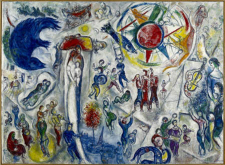 """My Way by Marc Chagall"