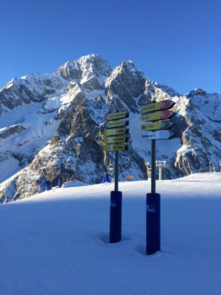 Choose your way, Mont Blanc, 4809m