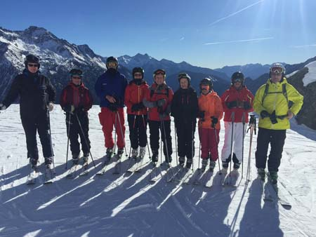 Foreverskiers in Champoluc 2016