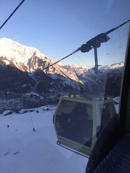 The last run Courmayeur