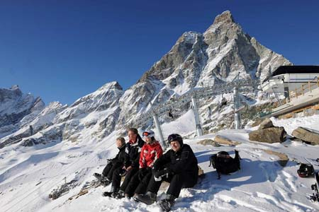 Cervinia will link to Zermatt and Monterosa Ski