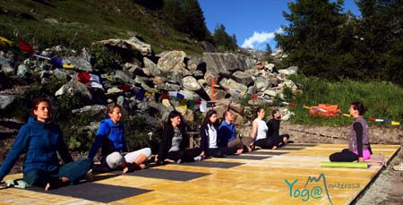 oga and dance workshops in Champoluc