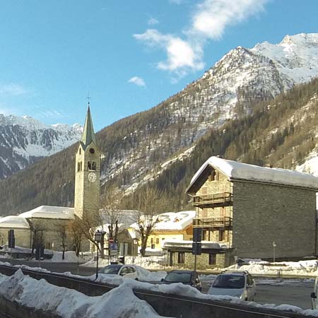 Church in Gressoney