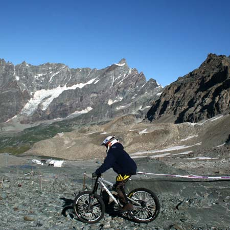 Biking tours in Monterosa