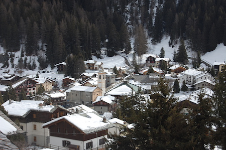 View over Champoluc