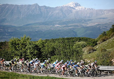 The 19th stage of Giro D'Italia will finish in Cervinia