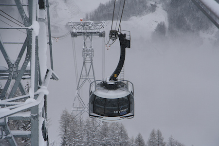 Mont Blanc new cable car