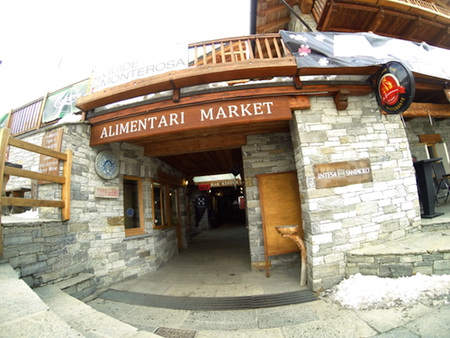 Gressoney market